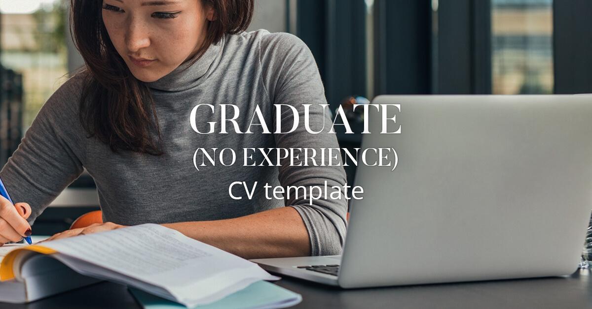 Cv Template No Experience