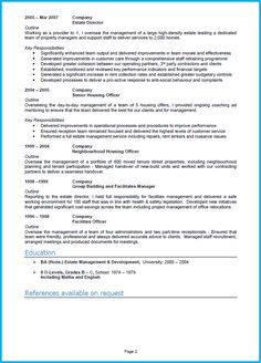 1 Page Cv Template Uk