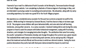 3 Paragraph Cover Letter Template