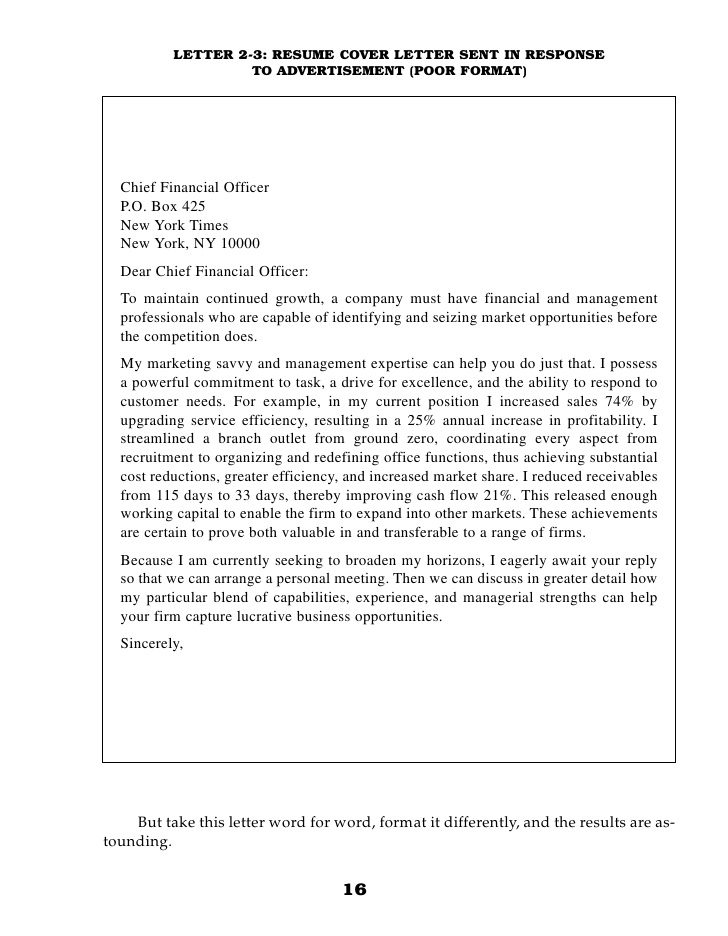 Cover Letter Template Internal Promotion Resume Format