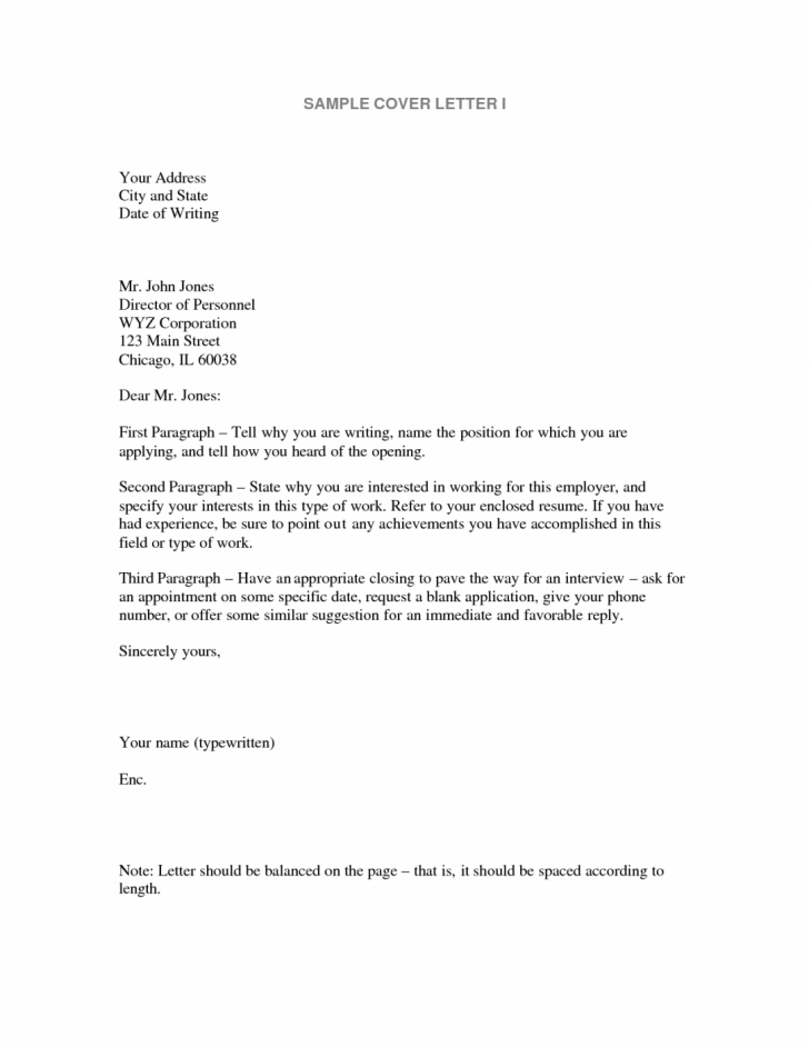 The Muse Cover Letter Template