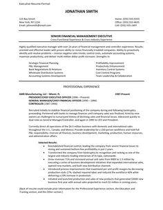 Traditional 2 Resume Format