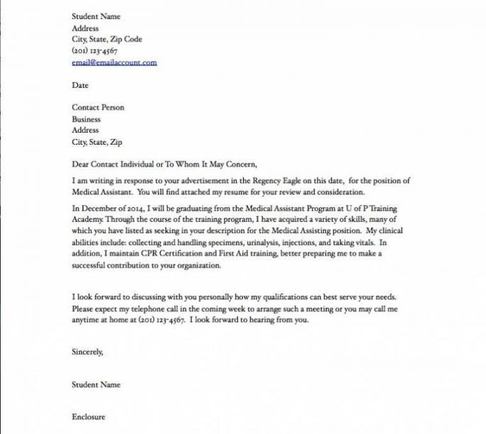 Cover Letter Template Physician Assistant - Resume Format