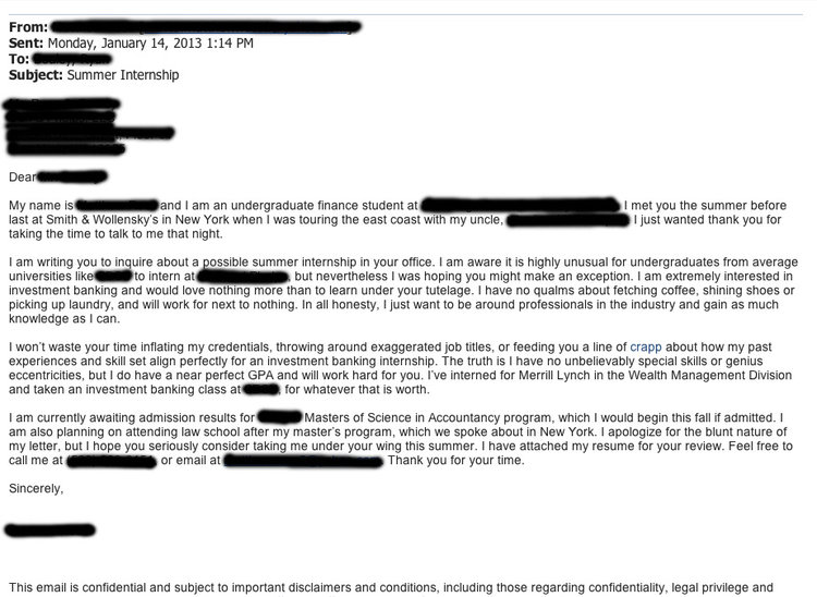 Cover Letter Template Business Insider