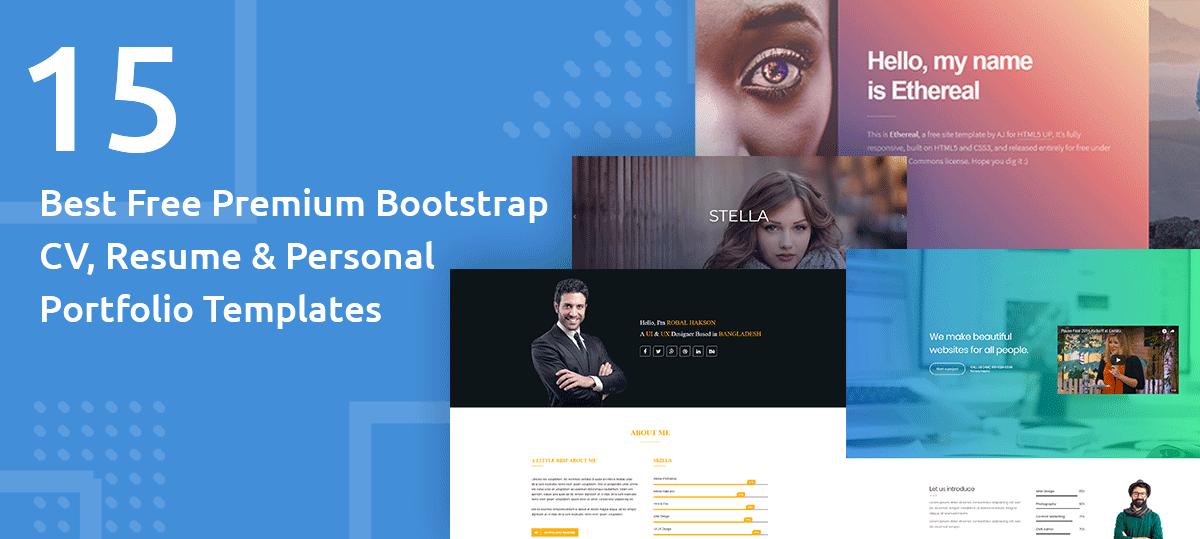 Bootstrap 3 Cv Template
