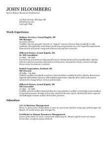 Resume Format With Picture Resume Format
