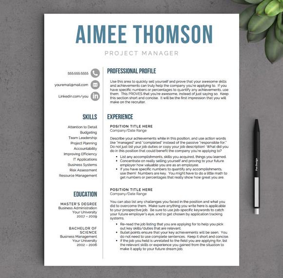 Resume Format Modern