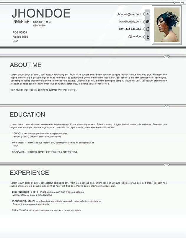 Cv Template 14 Year Old
