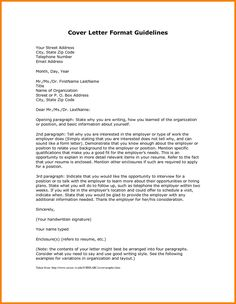 Cover Letter Template Variation