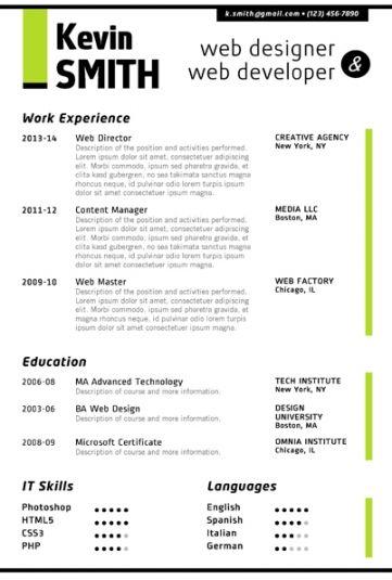 Resume Format Linkedin