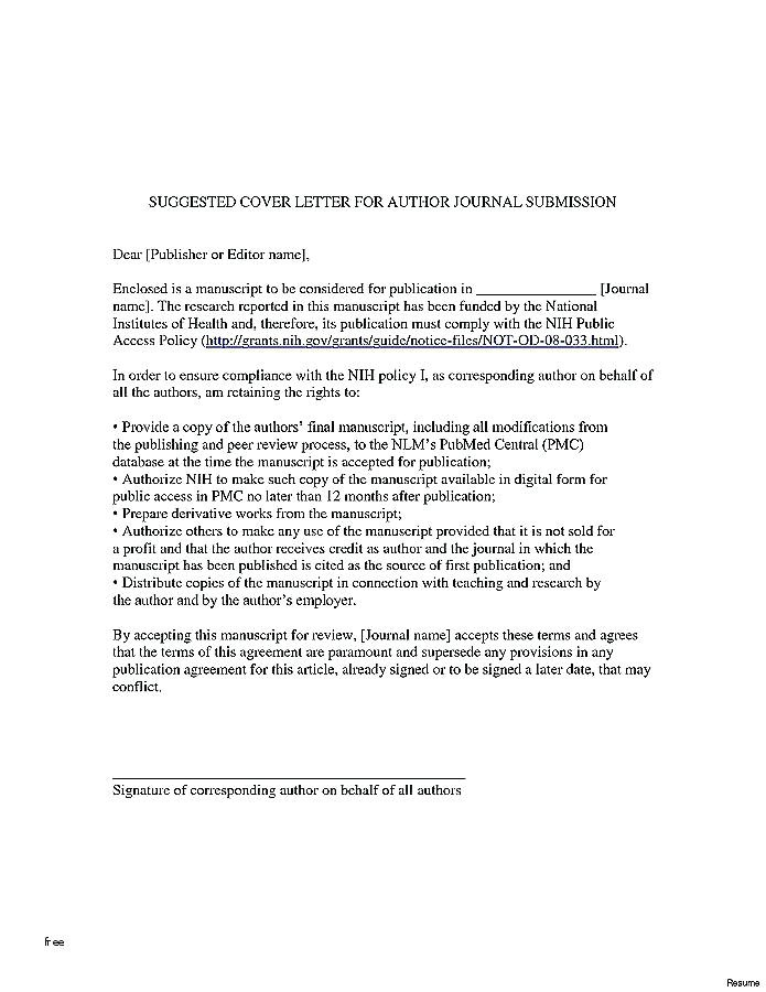Best Cover Letter Template 2016