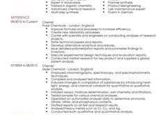 Cv Template Science