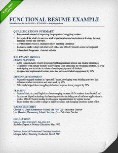 Resume Format Reverse Chronological