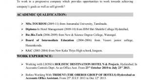 F B Controller Resume Format