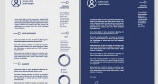 Cover Letter Template Illustrator