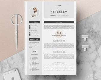 Cover Letter Template Etsy
