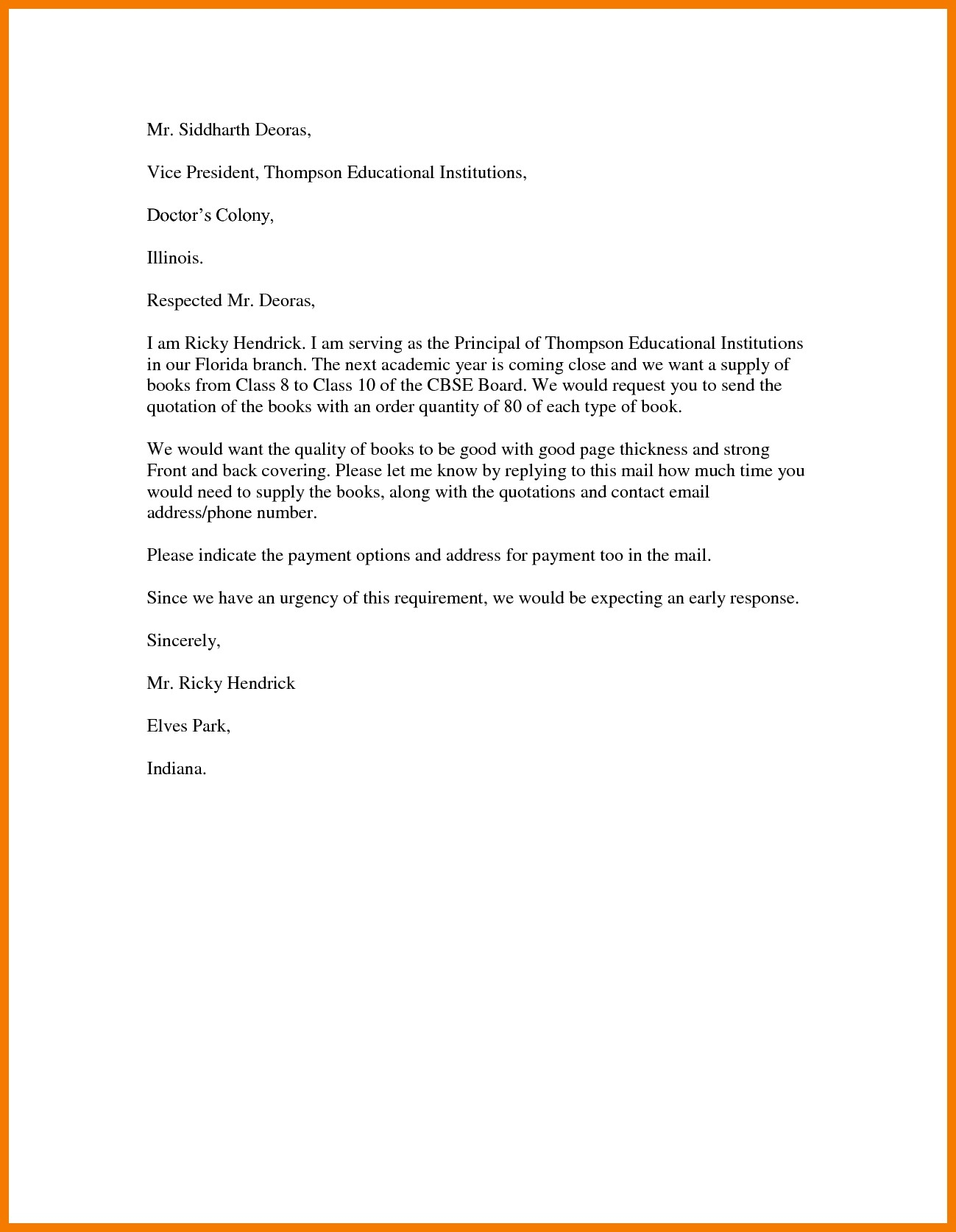 Cover Letter Quotes Templates