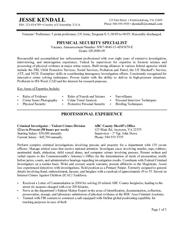 Resume Format In Usa