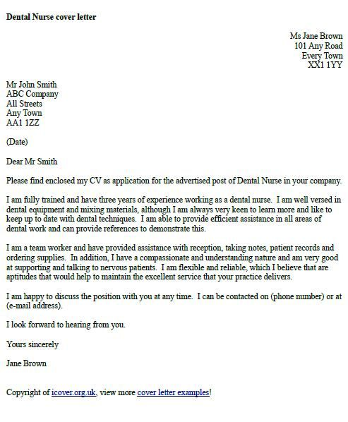 Cover Letter Template Uk Example