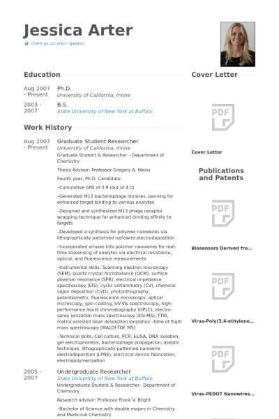 Cv Template Phd Student - Resume Format