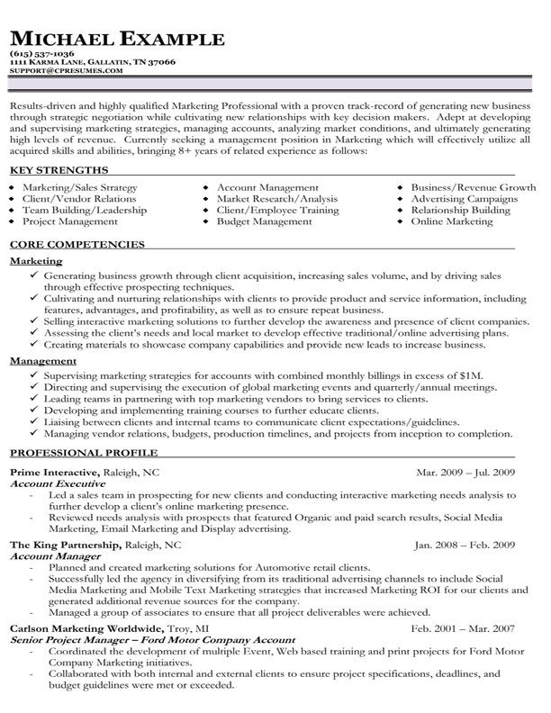 8 Years Resume Format