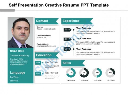 Resume Format Ppt