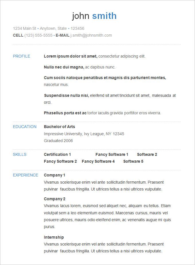 Diagram 70 B Basic Resume Templates Pdf C Doc C Psd C Free 6