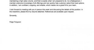 Cover Letter Template Copy And Paste