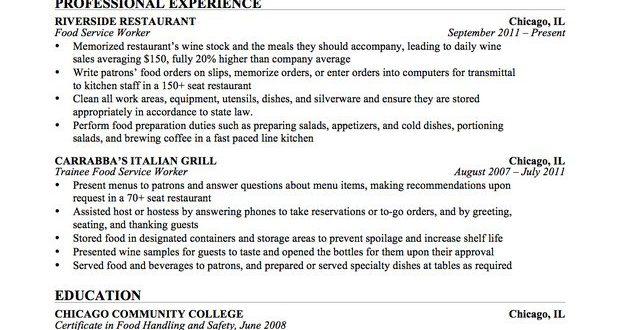 Resume Format Education