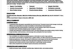 Resume Format Job Interview