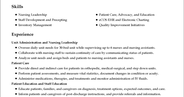 A Perfect Resume Format - Resume Format