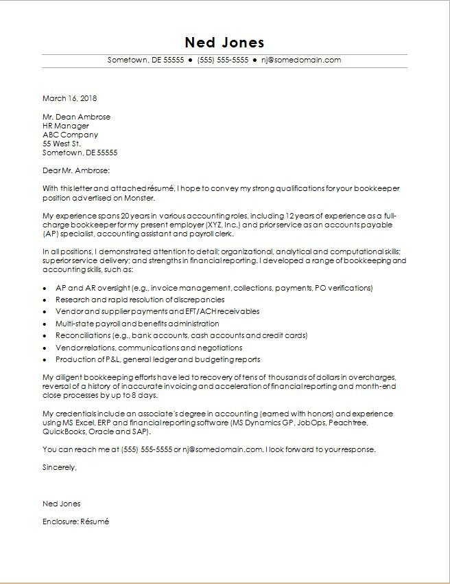 Picture Of Cover Letter Template