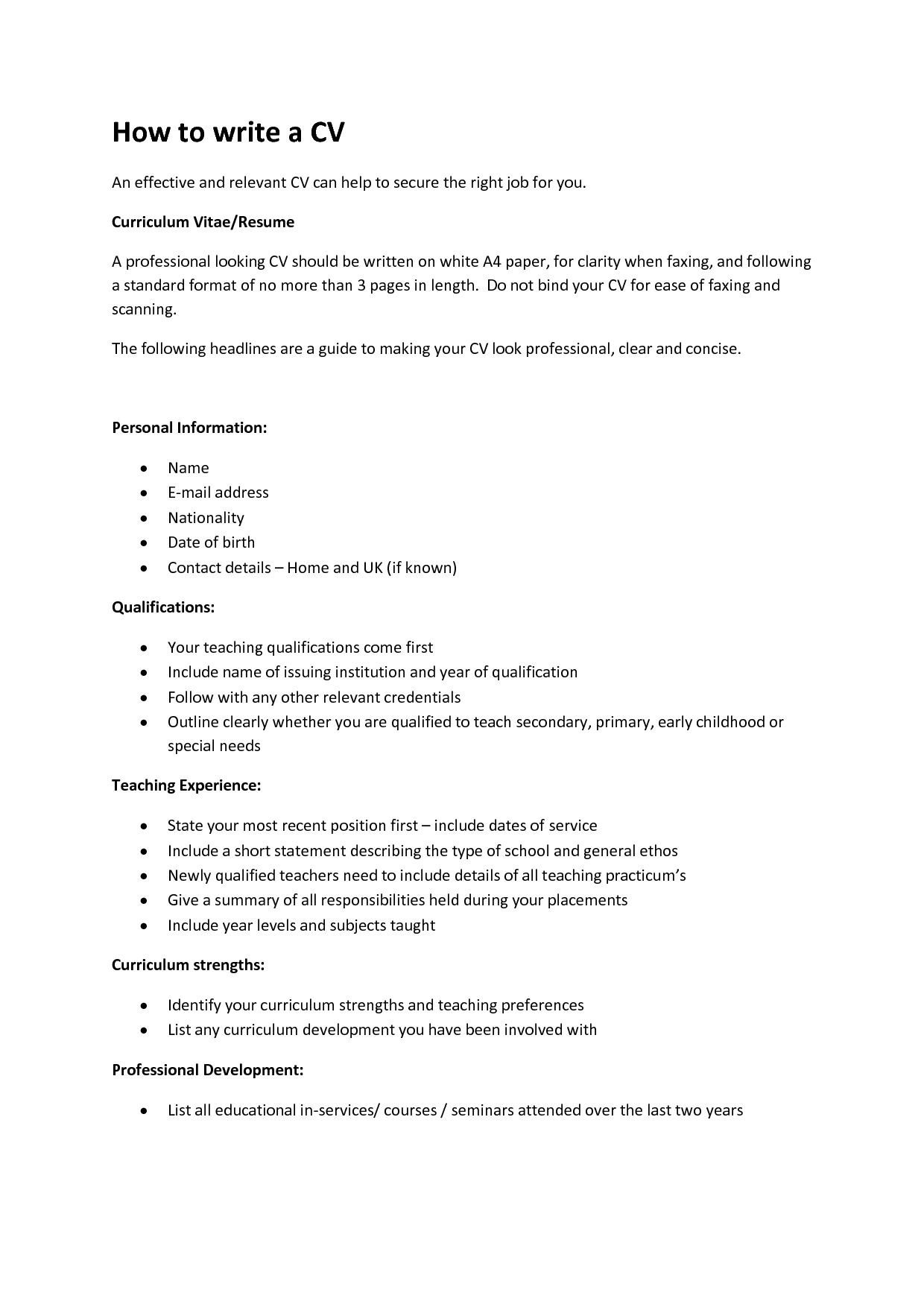 Resume Format Converter