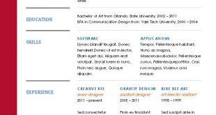 Resume Formats 2017