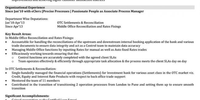 Resume Format Manager