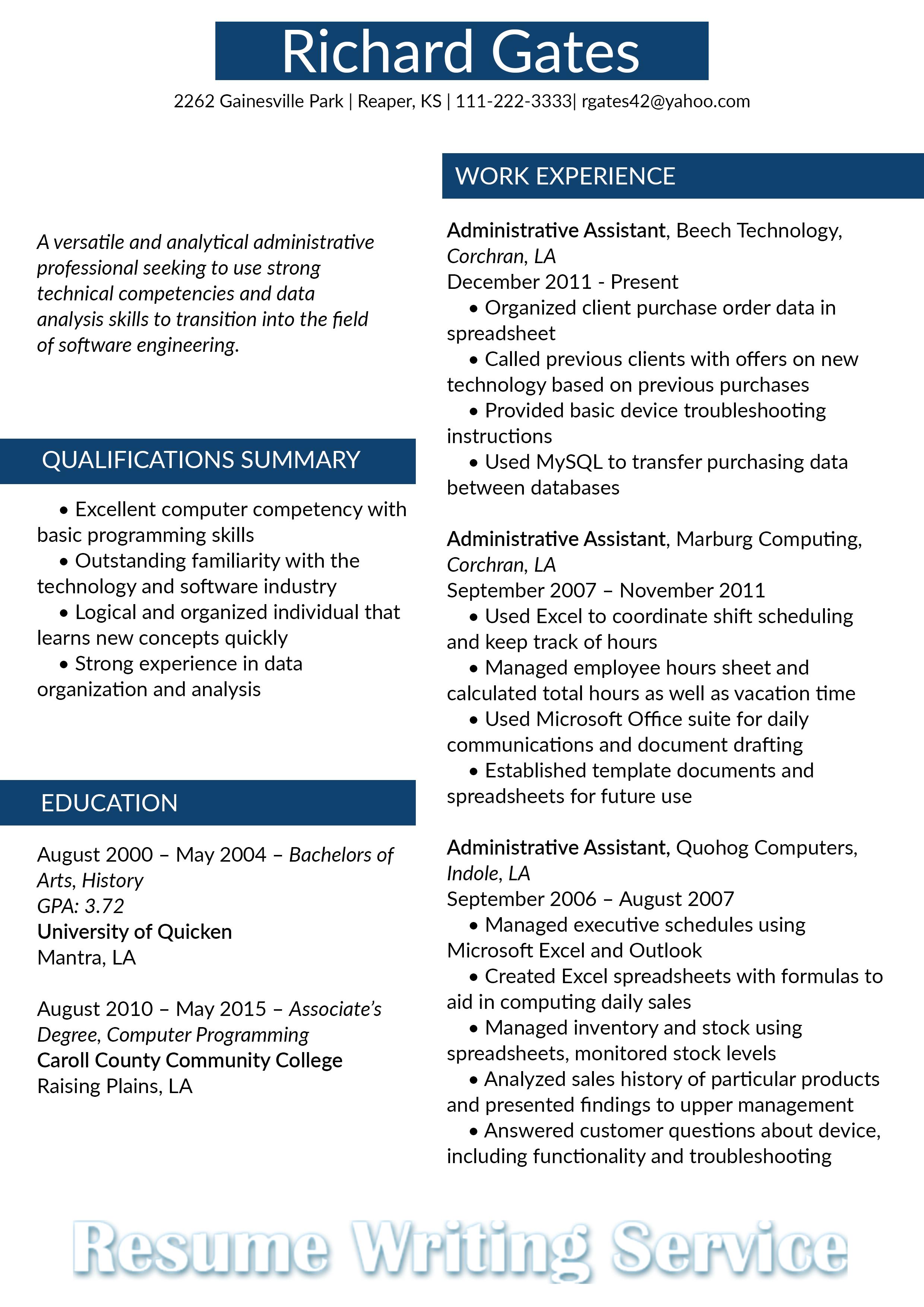 Resume Format 2018 Template Resume Format
