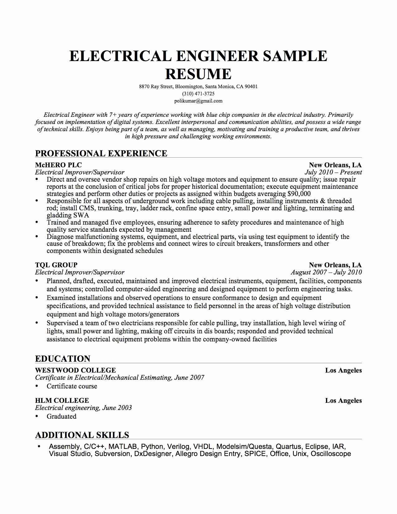 Xlri Resume Format