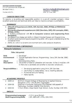 Resume Format Your Mom Hates This