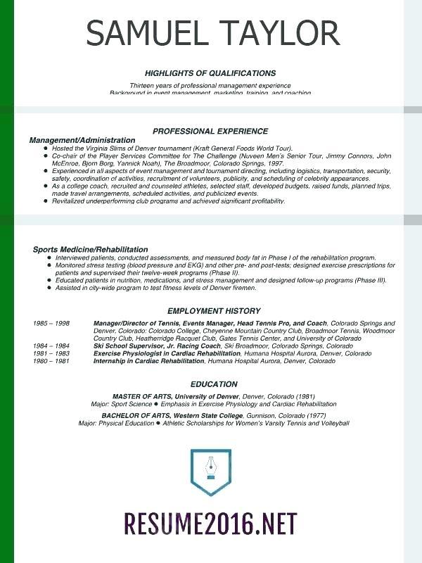 Resume Formatting Tips