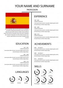 Cv Template Spain