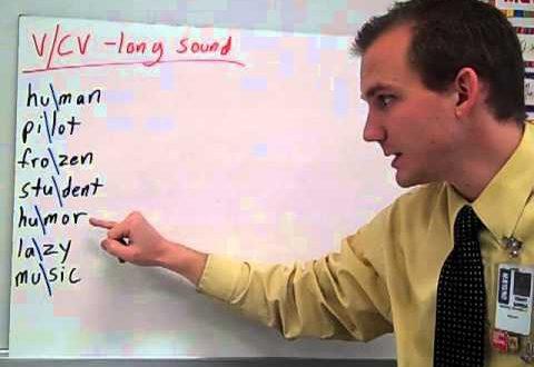 V Cv Pattern In Spelling