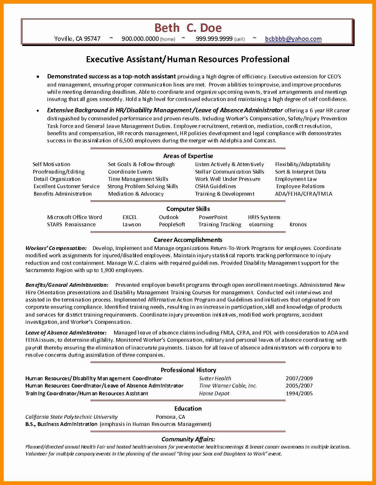 Resume Format Uptowork