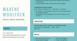 Resume Format Creative