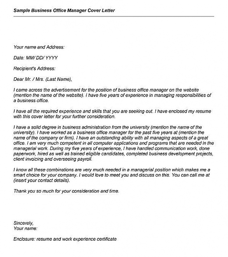 Cover Letter Template Owl