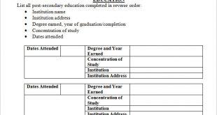 Resume Format Student