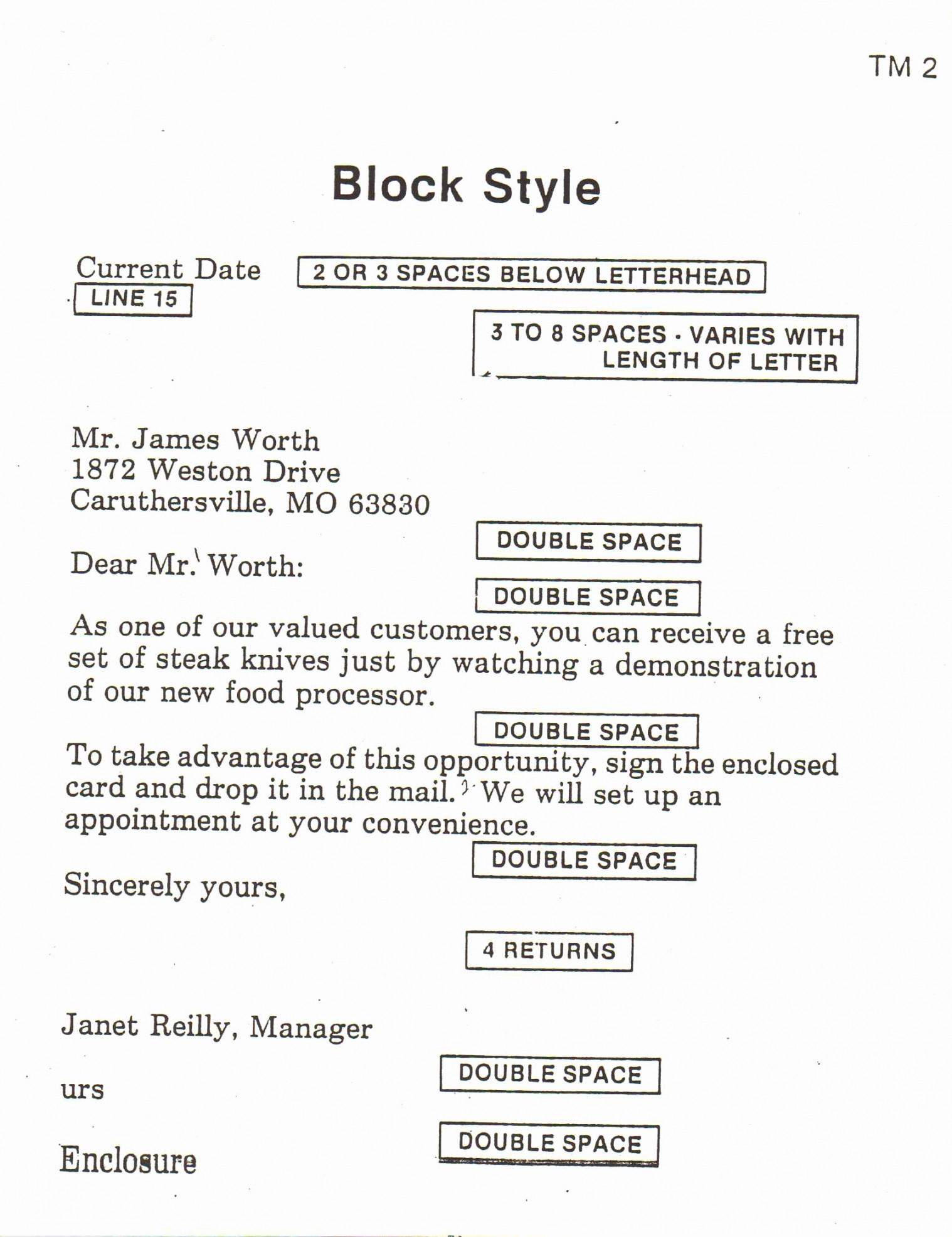 Resume Format Spacing