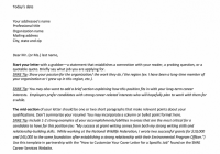 Cover Letter Template Muse