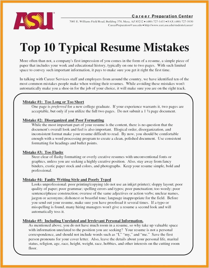 Resume Format Employers Prefer