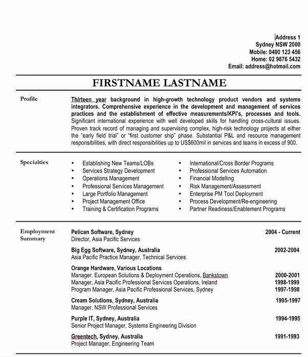Resume Format Quora