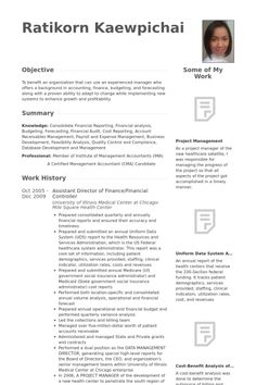 F B Controller Resume Format